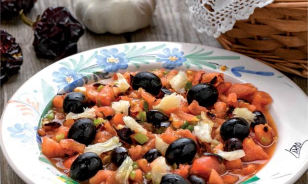 Ensaladas frescas de Murcia: Mojete y ensalada murciana