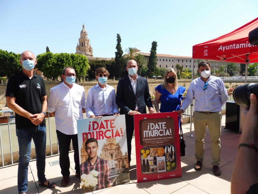 Presentación de la campaña ¡Date Murcia!