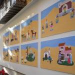 El Museo Gaya expone un belén en acrílico